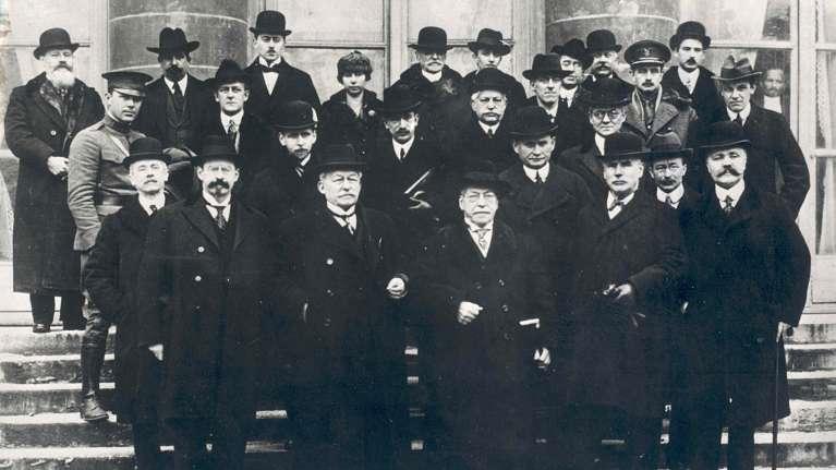 1919 Paris Commission for international labour standards