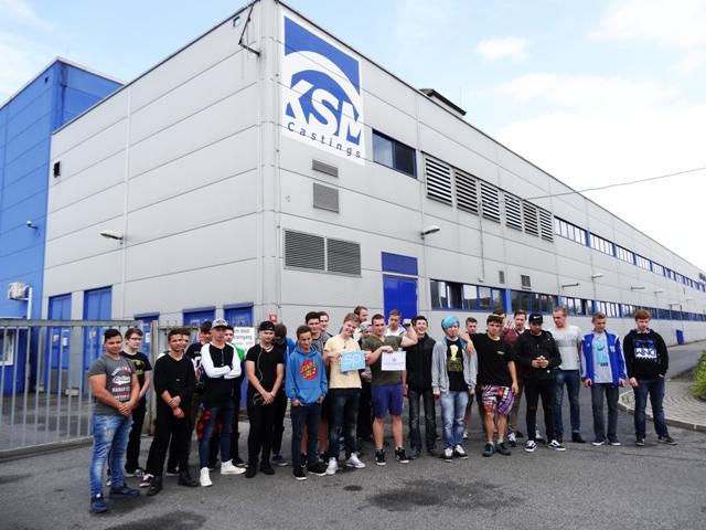 Návštěva studentů ve firmách v Libereckém kraji