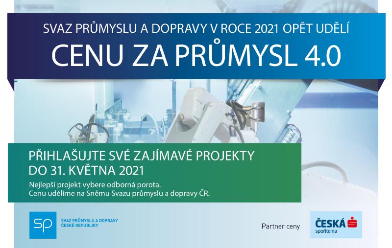 Cena za Průmysl 4.0 2021