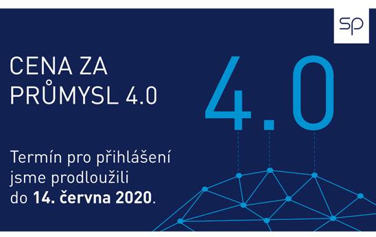Cena za Průmysl 4.0 - termín prodloužen do 14. 6.